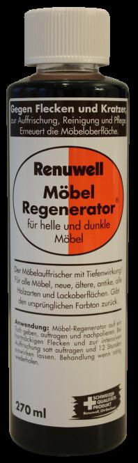 Regenerator für lackierte Stufen